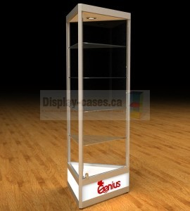 Triangular Tower Display Cabinets