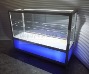 Back Lit Counter Display Cases