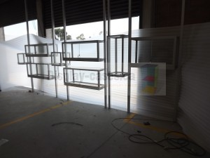 Suspended Display Cabinets